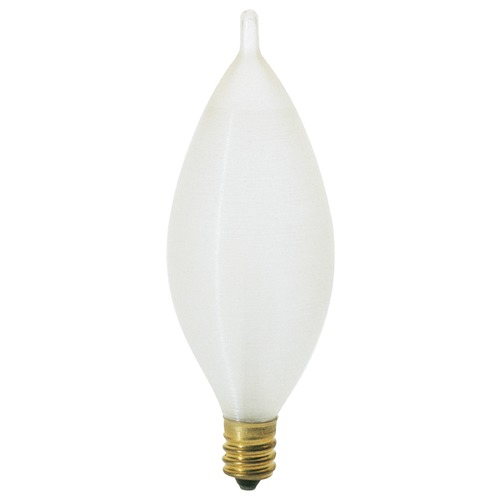 Satco Lighting Incandescent C11 Light Bulb Candelabra Base 120V Dimmable by Satco S3403