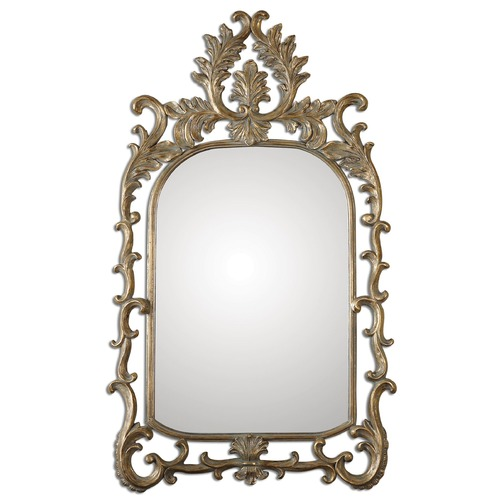 Uttermost Lighting Uttermost Abelia Gold Arch Mirror 08117
