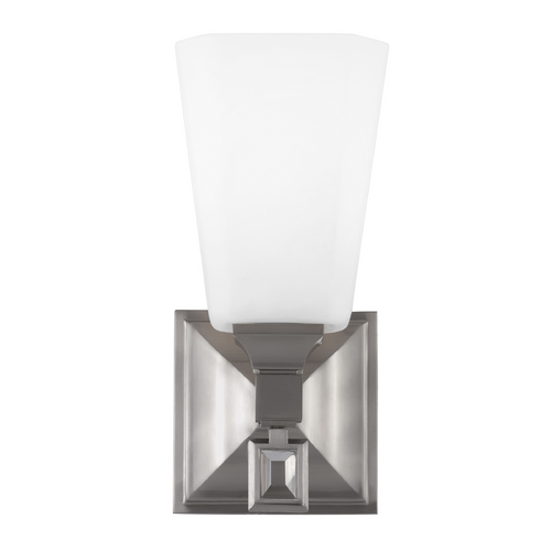 Feiss Lighting Feiss Lighting Sophie Brushed Steel Sconce WB1724BS