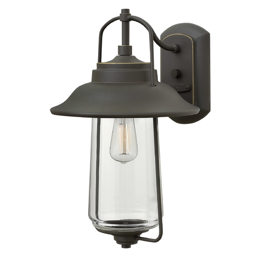 Hinkley Lighting Hinkley Lighting Belden Place Oil Rubbed Bronze Outdoor Wall Light 2864OZ