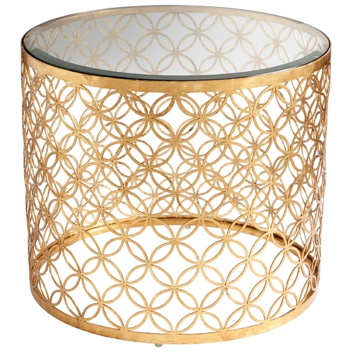Cyan Design Cyan Design Dante Gold Leaf Table 06347