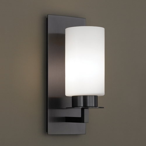Norwell Lighting Norwell Lighting Jade Bronze Sconce 9670-BR-MO