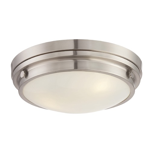 Savoy House Savoy House Lighting Lucerne Satin Nickel Flushmount Light 6-3350-16-SN
