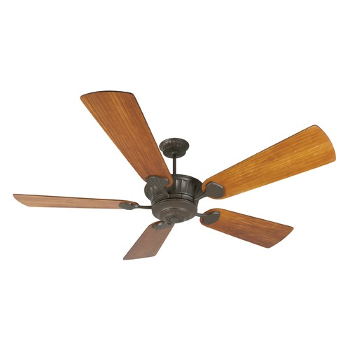 Craftmade Lighting Craftmade Lighting Dc Epic Aged Bronze Textured Ceiling Fan Without Light K10992