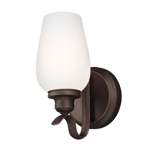 Feiss Lighting Feiss Lighting Standish Oil Rubbed Bronze with Highlights Sconce WB1769ORBH