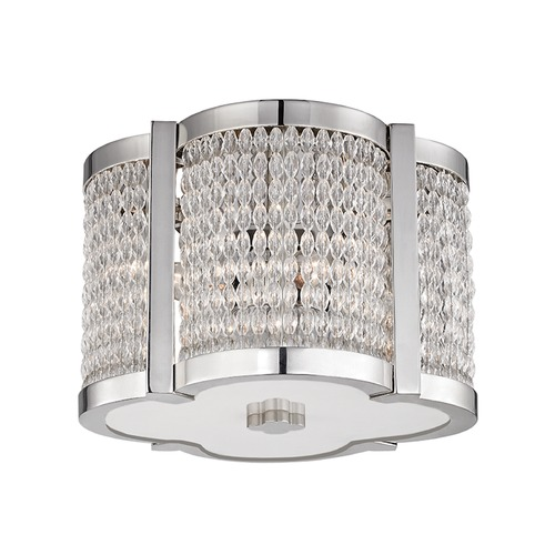 Hudson Valley Lighting Hudson Valley Lighting Ballston Polished Nickel Flushmount Light 4301-PN