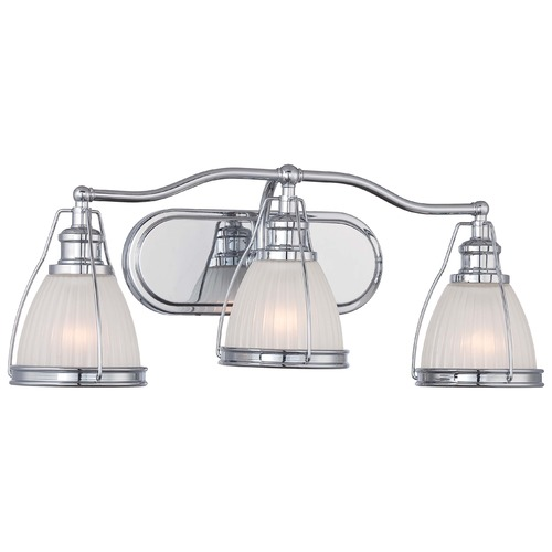 Minka Lavery Chrome Bathroom Light 5793-77
