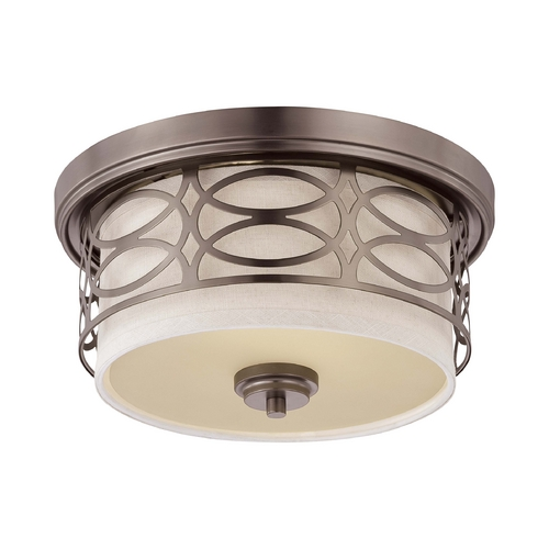 Nuvo Lighting Modern Flushmount Lights in Hazel Bronze Finish 60/4727