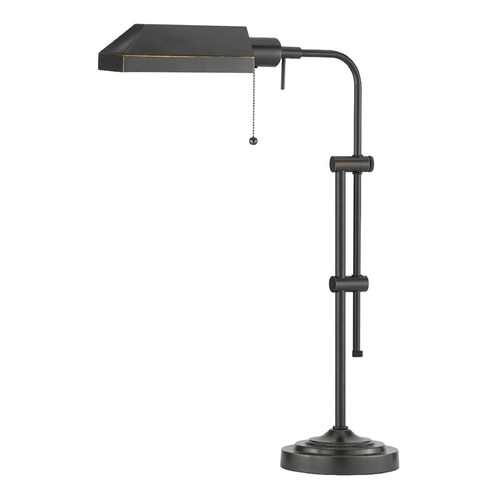 CAL Lighting Adjustable Pharmacy Table Lamp BO-117TB-DB