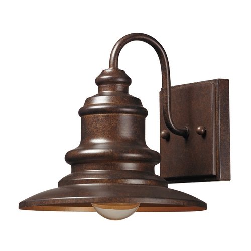 Elk Lighting Outdoor Wall Light in Hazelnut Bronze Finish 47010/1