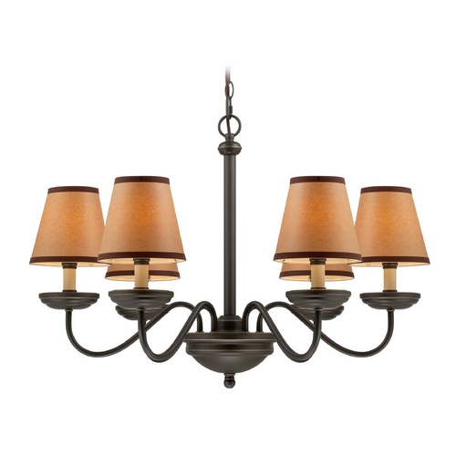 Lite Source Lighting Lite Source Lighting Marysa Dark Bronze Chandelier LS-19656