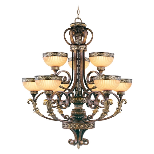 Livex Lighting Livex Lighting Seville Palacial Bronze with Gilded Accents Chandelier 8529-64