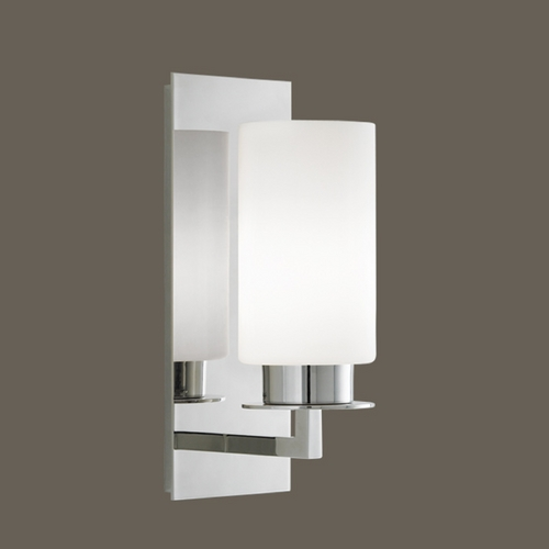 Norwell Lighting Norwell Lighting Jade Polished Nickel Sconce 9670-PN-MO