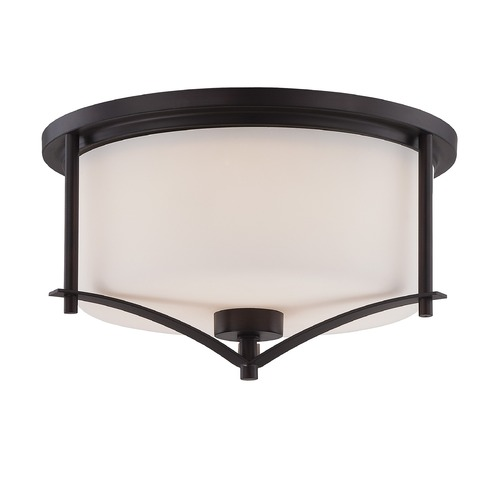 Savoy House Savoy House English Bronze Flushmount Light 6-335-15-13