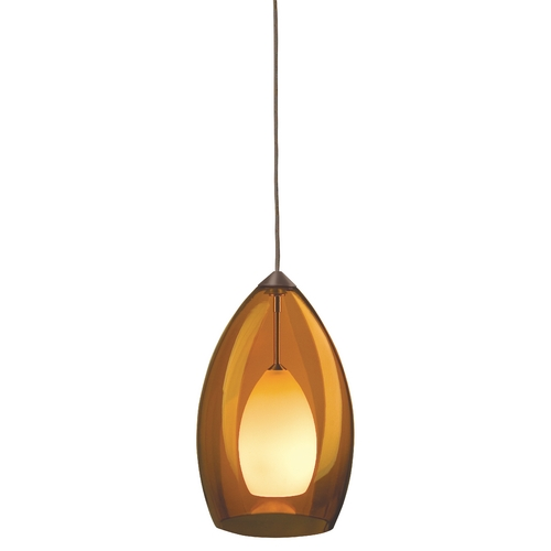 Tech Lighting Murano Glass Mini-Pendant 700-FJFIRAZ/700-FJ4RFZ KIT