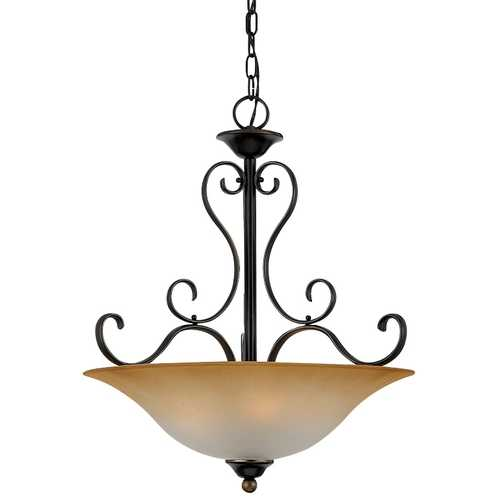 Quoizel Lighting Four-Light Pendant DH2820PN