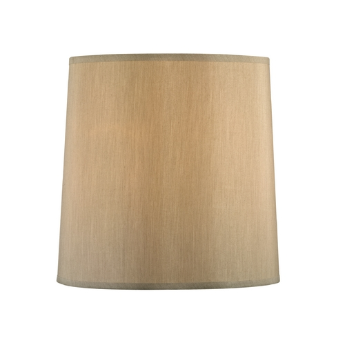 Design Classics Lighting Beige Drum Lamp Shade with Spider Assembly SH9570