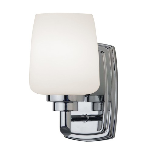 Design Classics Lighting Polished Chrome Sconce with LED Bulb 461-26/10W LED