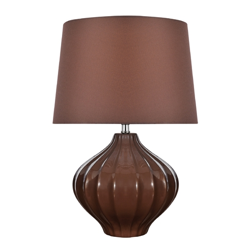 Lite Source Lighting Lite Source Lighting Gordana Coffee Table Lamp with Drum Shade LS-22314COFFEE