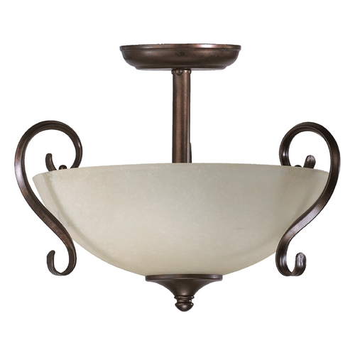Quorum Lighting Quorum Lighting Powell Toasted Sienna Pendant Light 2808-15-44