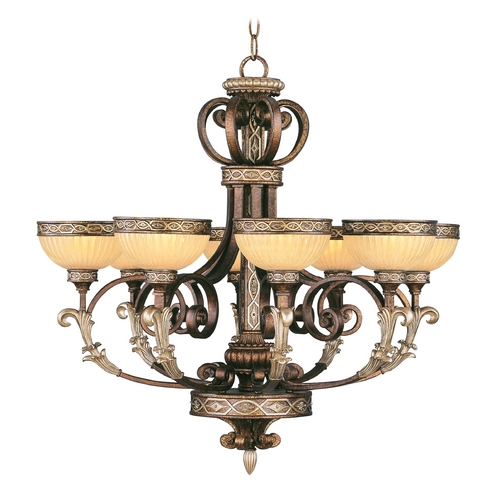 Livex Lighting Livex Lighting Seville Palacial Bronze with Gilded Accents Chandelier 8528-64