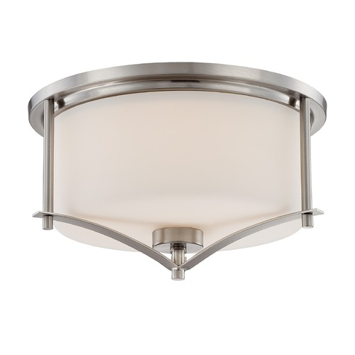 Savoy House Savoy House Satin Nickel Flushmount Light 6-335-15-SN