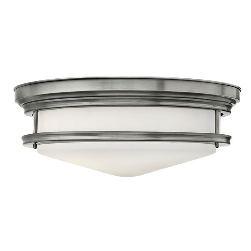 Hinkley Lighting Hinkley Lighting Hadley Antique Nickel Flushmount Light 3304AN-GU24