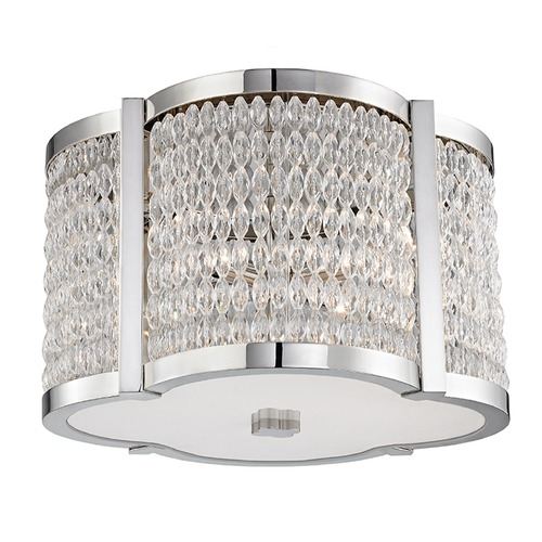 Hudson Valley Lighting Hudson Valley Lighting Ballston Polished Nickel Flushmount Light 4302-PN