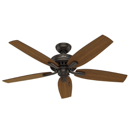 Hunter Fan Company Hunter Fan Company Newsome Premier Bronze Ceiling Fan Without Light 53323