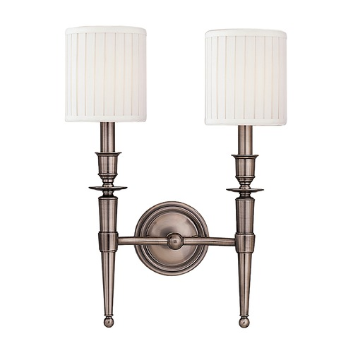 Hudson Valley Lighting Hudson Valley Lighting Abington Antique Nickel Sconce 4902-AN