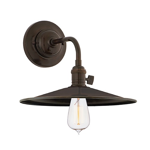 Hudson Valley Lighting Sconce Wall Light in Old Bronze Finish 8000-OB-MS1