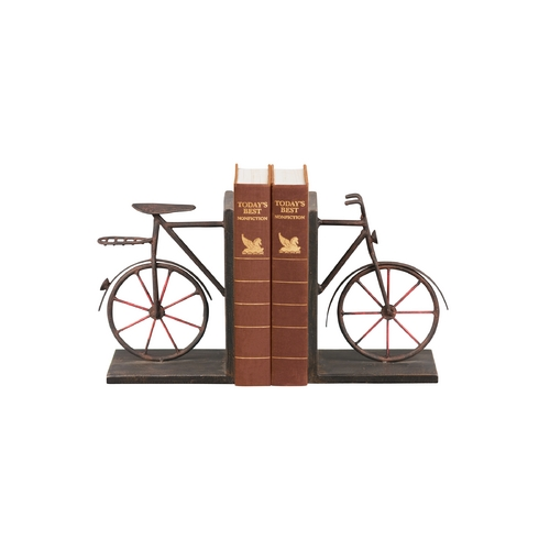 Sterling Lighting Decorative Bicycle Bookends 51-3857