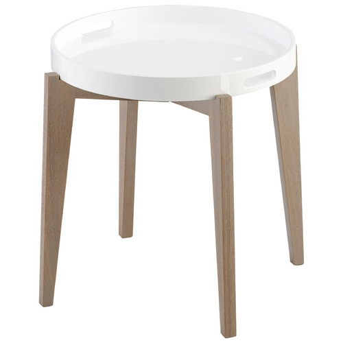 Cyan Design Cyan Design Van Dyke White Lacquer Coffee & End Table 06352