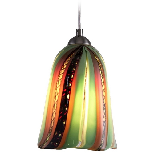 Oggetti Lighting Oggetti Lighting Amore Satin Nickel Mini-Pendant Light 18-157A