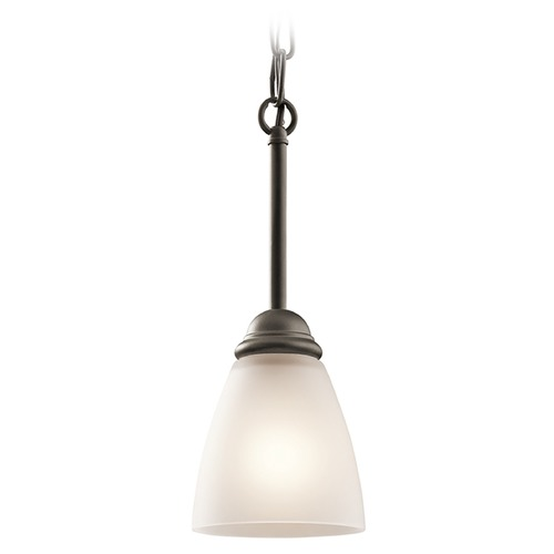 Kichler Lighting Kichler Lighting Jolie Mini-Pendant Light with Bowl / Dome Shade 43640OZ