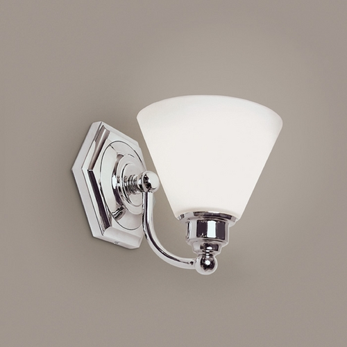 Norwell Lighting Norwell Lighting Jenna Chrome Sconce 8531-CH-OP
