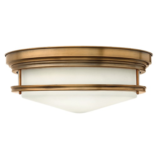 Hinkley Lighting Hinkley Lighting Hadley Brushed Bronze Flushmount Light 3304BR-GU24