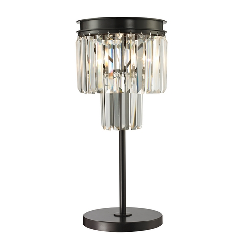 Dimond Lighting Dimond Lighting Palacial Oil Rubbed Bronze Table Lamp 14210/1