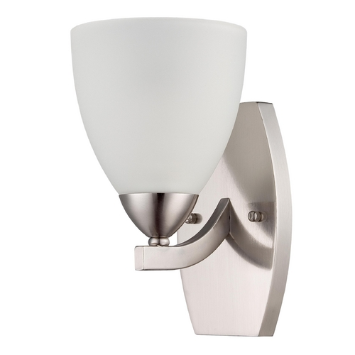 Craftmade Lighting Craftmade Hartford Satin Nickel Sconce 37761-SN