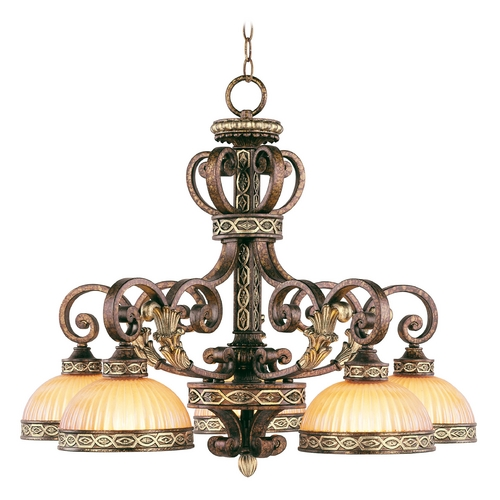 Livex Lighting Livex Lighting Seville Palacial Bronze with Gilded Accents Chandelier 8525-64