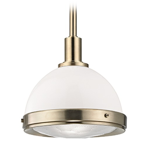 Hudson Valley Lighting Dalton 1 Light Pendant Light - Aged Brass 7911-AGB