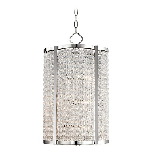 Hudson Valley Lighting Hudson Valley Lighting Ballston Polished Nickel Pendant Light 4312-PN