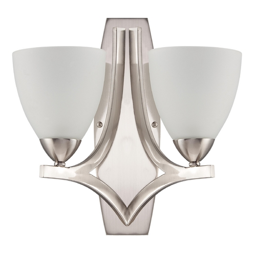Jeremiah Lighting Jeremiah Lighting Hartford Satin Nickel Sconce 37762-SN
