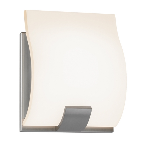 Sonneman Lighting Sonneman Lighting Aquo Satin Nickel LED Sconce 3881.13LED