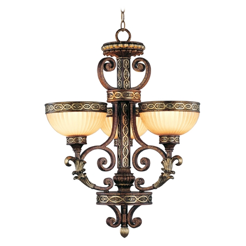 Livex Lighting Livex Lighting Seville Palacial Bronze with Gilded Accents Mini-Chandelier 8524-64