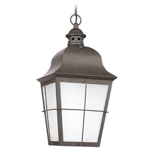 Sea Gull Lighting Sea Gull Lighting Chatham Oxidized Bronze LED Outdoor Hanging Light 606291S-46