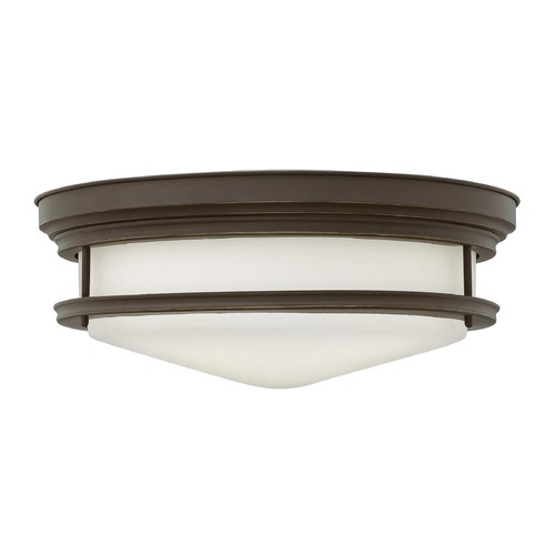 Hinkley Lighting Hinkley Lighting Hadley Oil Rubbed Bronze Flushmount Light 3304OZ-GU24