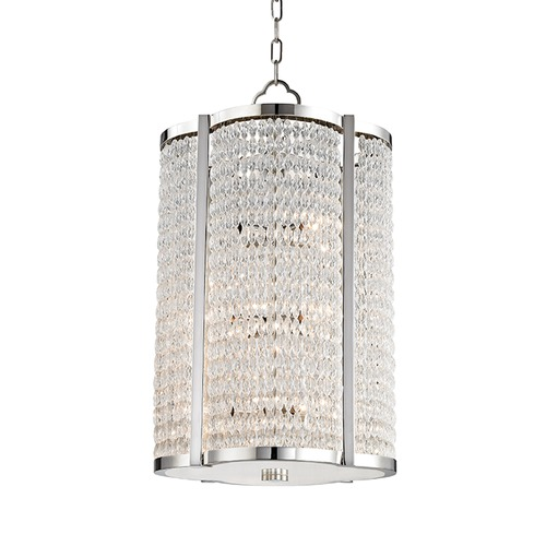 Hudson Valley Lighting Hudson Valley Lighting Ballston Aged Brass Pendant Light 4316-AGB
