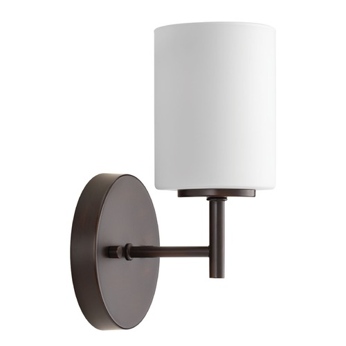 Progress Lighting Modern Sconce Bronze Replay by Progress Lighting P2131-20