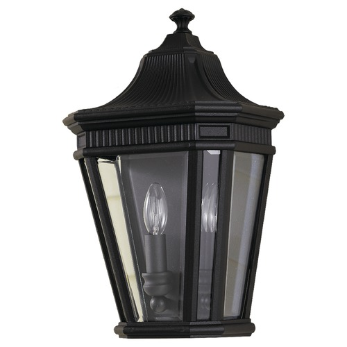 Home Solutions by Feiss Lighting Home Solutions By Feiss Cotswold Lane Black Outdoor Wall Light OL5403BK